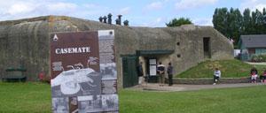 Merville-Franceville, musée lettrine
