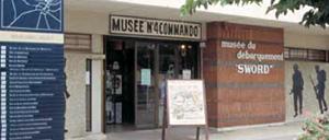 Ouistreham, musée 4 commando lettrine