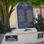 Saint-Aignan-de-Cramesnil, plaque Northamptonshire Yeomanry