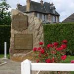Saint-André-sur-Orne, stèle Black Watch & régiment de Maisonneuve