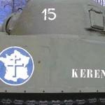 Saint-Christophe-le-Jajolet, char Sherman Keren