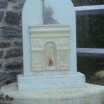 Saint-Jean-de-Savigny, stèle du 60e anniversaire