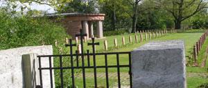 Saint-Désir, cimetière allemand lettrine
