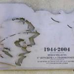 Sainte-Honorine-la-Chardronnette, stèle 5th Battalion Queen's Own Cameron Highlanders