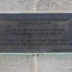 Sainte-Marie-du-Mont, monument marins danois