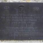 Sainte-Marie-du-Mont, plaque 101st Airborne Division