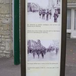 Sainte-Mère-Eglise, panneau circuit historique