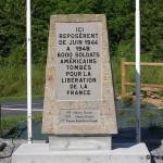 Sainte-Mère-Eglise, monument cimetière américain
