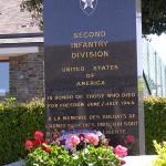 Saint-Georges-d'Elle, monument 2nd Infantry Division