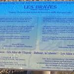 Saint-Laurent-sur-Mer, monument Les Braves