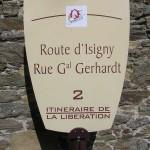 Saint-Lô, panneau General Gehrardt