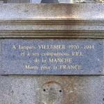 Saint-Lô, monument Résistants & victimes civiles