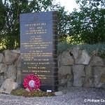 Saint-Martin-des-Besaces, stèle Brigadier Barttelot