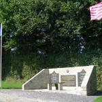 Saint-Maurice-en-Cotentin, monument 9th Infantry Division