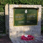 Saint-Pierre, stèle Nottinghamshire Yeomanry