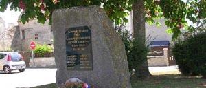 Saint-Sylvain, monument lettrine