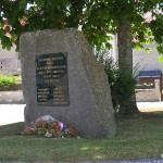 Saint-Sylvain, stèle 1re Division blindée