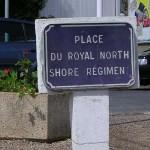 Tailleville, panneau Royal North Shore Regiment