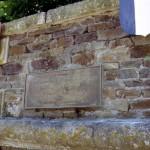 Thury-Harcourt, plaque soldats britanniques