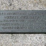 Thury-Harcourt, stèle 59th Infantry Division