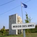 Tournai-sur-Dives, monument Miroir des âmes