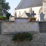Tournai-sur-Dives, plaque victimes civiles