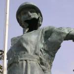 Trévières, monument de la Libération