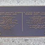 Trun, plaque 4th Armored Division