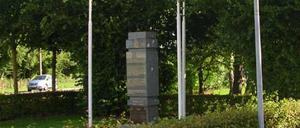 Varaville, monument lettrine