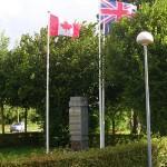 Varaville, monument 1st Canadian Parachute Batallion