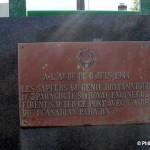 Varaville, stèle 3rd Parachute Squadron RE