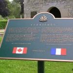 Saint-Martin-de-Fontenay - Verrières, panneau Royal Hamilton Light Infantry