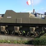Ver-sur-Mer, canon automoteur Sexton