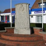 Ver-sur-Mer, monument 2nd Battalion The Hertfordshire Regiment