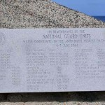 Vierville-sur-Mer, monument National Guard