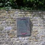 Vierville-sur-Mer, plaque 5th Ranger Battalion