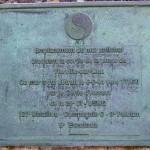Vierville-sur-Mer, plaque 121st Engineer Battalion