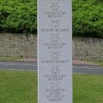 Vierville-sur-Mer, stèle 29th Infantry Division