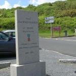 Vierville-sur-Mer, stèle Jean Roger Sainteny