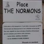 Viessoix, panneau The Normons