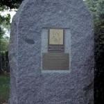 Villers-Bocage, stèle Captain George Rarey