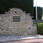Villons-les-Buissons, monument 9th Infantry Brigade