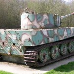 Vimoutiers, char allemand Tigre I