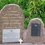 Annebault, stèles 8th & 9th Battalion Parachute Regiment