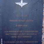 Annebault, stèle 8th Battalion Parachute Regiment
