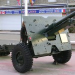 Arromanches-les-Bains, canon de campagne 25 Pounder