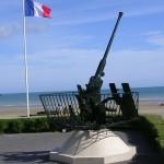 Arromanches-les-Bains, canon antiaérien Bofors