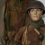 Arromanches Liberators Museum Normandy 1944, parachutiste britannique