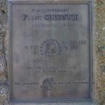 Aubusson, stèle Frank Grdenich