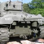 Bayeux musée de la Bataille de Normandie, char Sherman M4